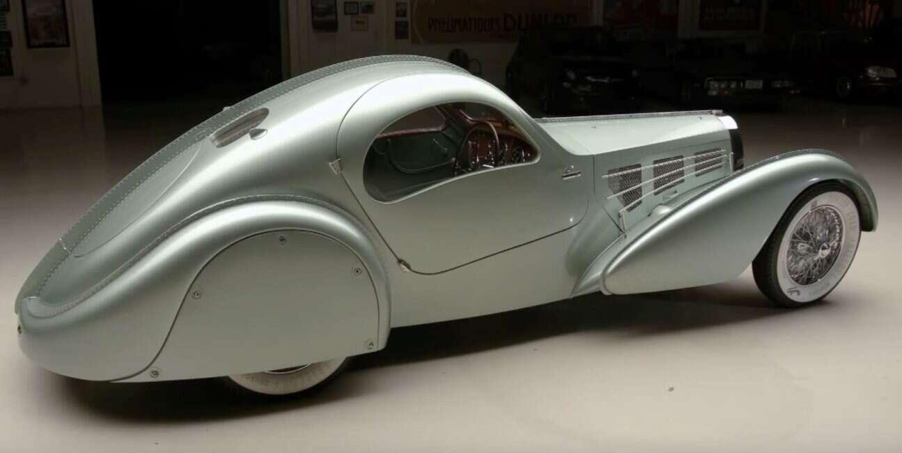 Koncept Bugatti Aérolithe z 1935 roku przywrócony do życia