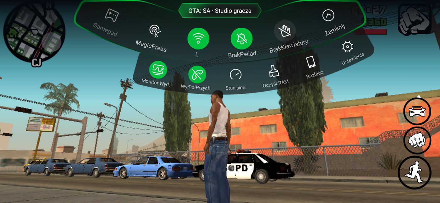 Granie na Black Shark 2 - GTA SA