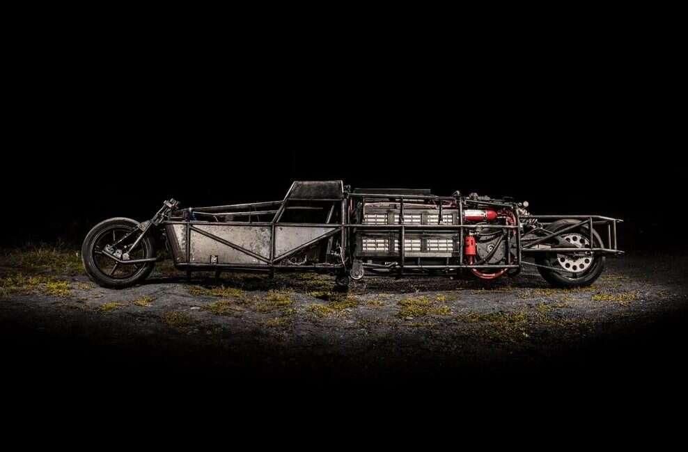 Elektryczny motocykl Lark Streamliner osiągnął kamień milowy
