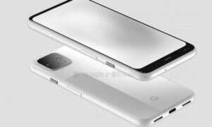 Nowe rendery smartfonów Google Pixel 4 z tajemniczą dziurą