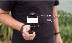 Na Kickstartera wpadła kamera Stacam z gimbalem