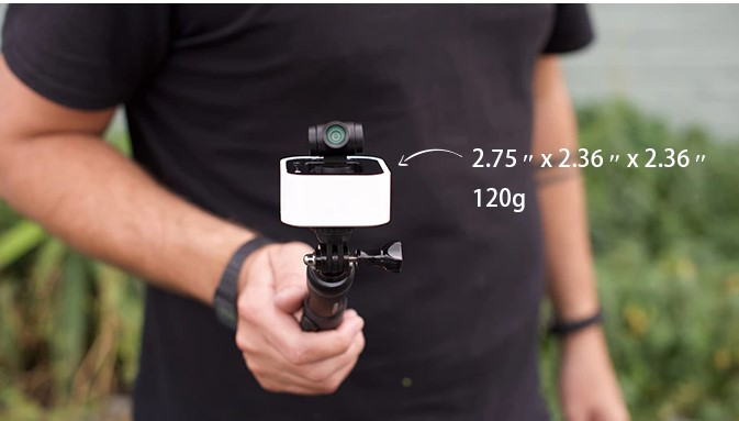 kamera Stacam z gimbalem