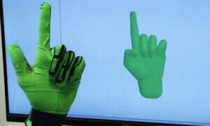Ta rękawiczka wnosi przechwytywanie gestów na nowy poziom