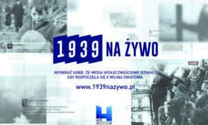 """Rok 1939 w social mediach – ruszyła niezwykła akcja Viasat """"1939 na żywo"""""""