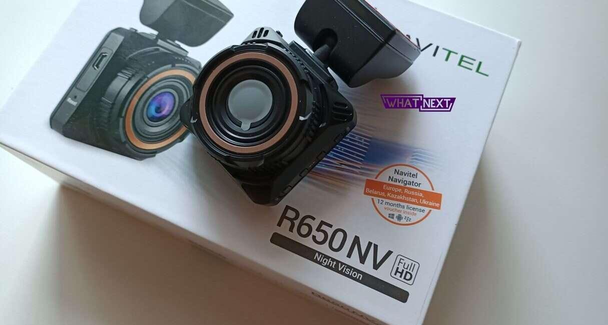 Test wideorejestratora Navitel R650 NV