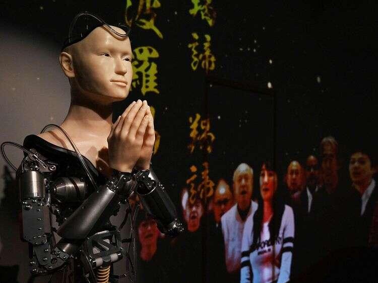 Android głosi już buddyjskie prawdy w japońskiej świątyni
