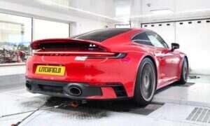 """Specjalista """"prostym trikiem"""" wyciągnął Porsche 911 Carrera S do mocy 572 KM"""