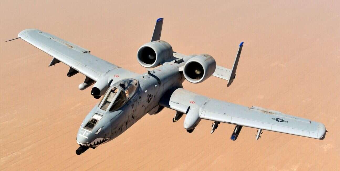 Samoloty A-10 Warthog doczekają się ulepszenia, a nie emerytury