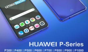 Jeszcze więcej smartfonów Huawei z serii P