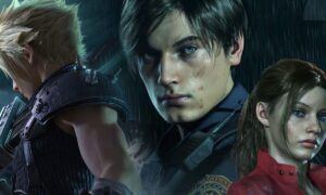 Cloud w Resident Evil 2 Remake – czy postać z Final Fantasy pasuje?