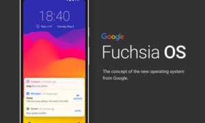 Huawei pracuje nad Google Fuchsia OS