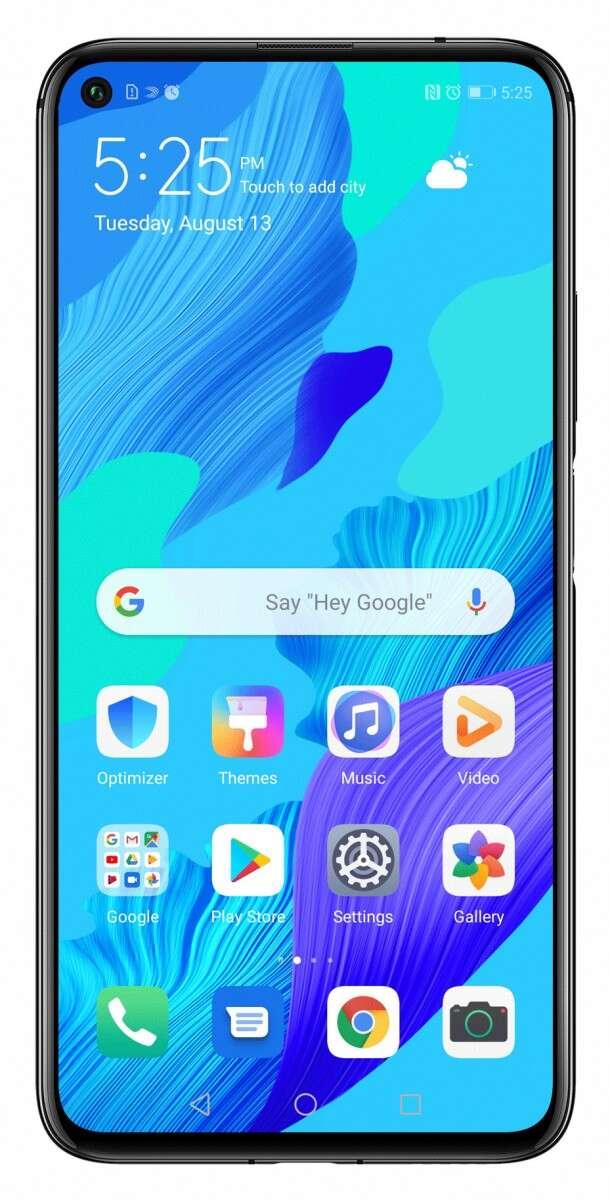 Huawei Nova 5T, specyfikacja Huawei Nova 5T, Honor 20 Huawei Nova 5T, parametry Huawei Nova 5T, google Huawei Nova 5T