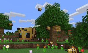 Słyszycie co tak bzyczy w Minecraft? To pszczoły!