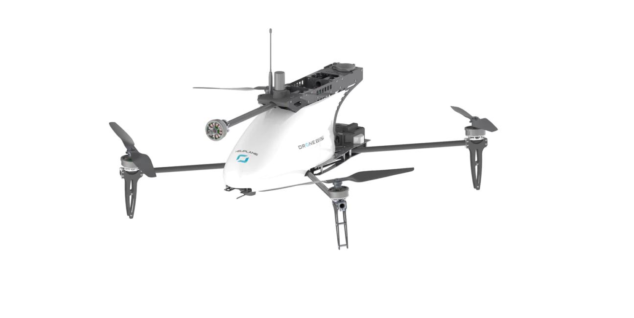 Heliplane od Drone Volt jest samolotem i dronem VTOL w jednym