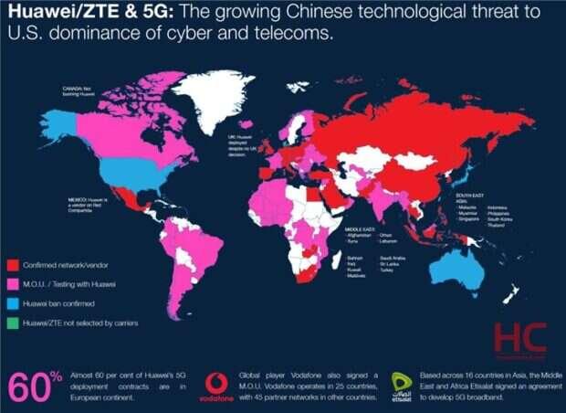 5G Huawei, sieć 5G Huawei, świat 5G Huawei, umowy 5G Huawei, Europa 5G Huawei