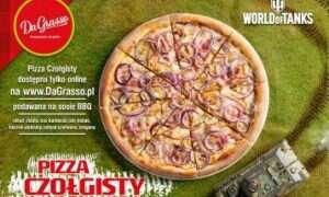 Pizza Czołgisty dostępna w Da Grasso