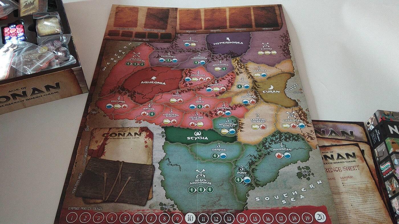 Age of Conan mapa