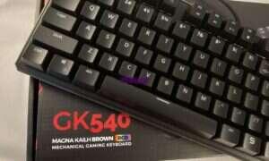 Test klawiatury SPC Gear GK540