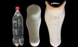 Nasadki na protezy wykonane z recyklingu plastiku