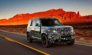 To prawdopodobnie Land Rover Defender 2020