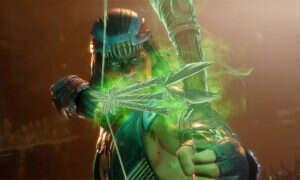 Nightwolf w Mortal Kombat 11 wyrywa ręką szczęki