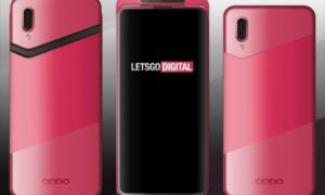 Rendery nowego smartfona Oppo z wysuwanym aparatem