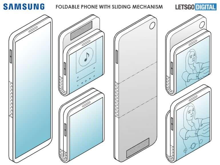 Galaxy Fold, wygląd Galaxy Fold, design Galaxy Fold, Galaxy Fold 2, drugi Galaxy Fold, patent Galaxy Fold