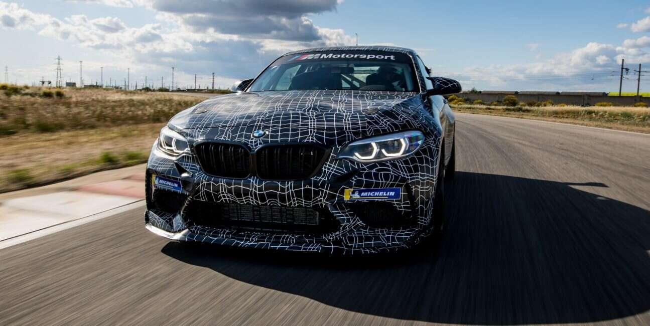 BMW M2 Competition w wyścigowej wersji