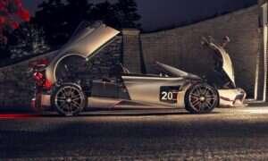 Premiera Huayra BC Roadster od Pagani