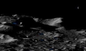 Na Księżycu mogą znajdować się duże ilości zamarzniętej wody