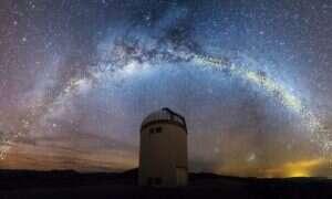 Nowa mapa symuluje 220 milionów lat powstawania gwiazd