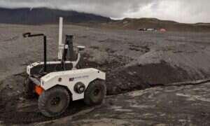 NASA prowadzi testy łazik na Islandii udającej Marsa