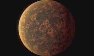 Ta skalista egzoplaneta wielkości Ziemi nie ma atmosfery