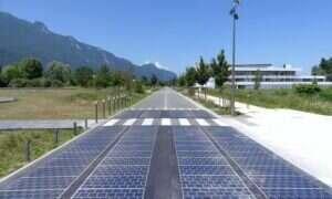 Francuska droga solarna okazała się totalną porażką