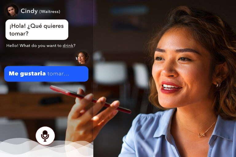 Aplikacja Rype GO używa SI do nauczenia Ciebie języka obcego
