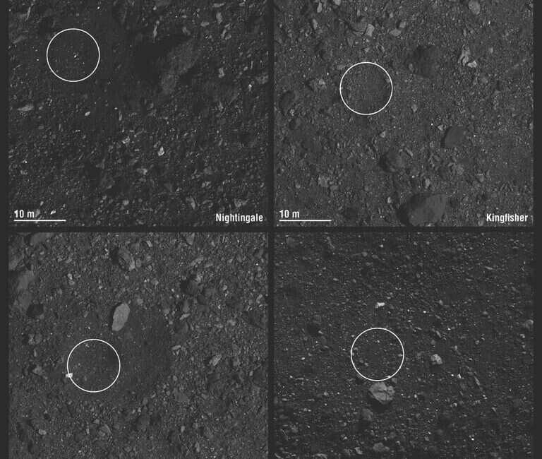 NASA typuje najlepsze miejsce do lądowania na asteroidzie Bennu