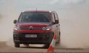 Nowy Citroën Berlingo pokazał pazur z rajdowcem za kółkiem