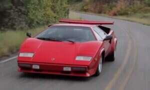 Ryku Lamborghini Countach trudno puścić w niepamięć