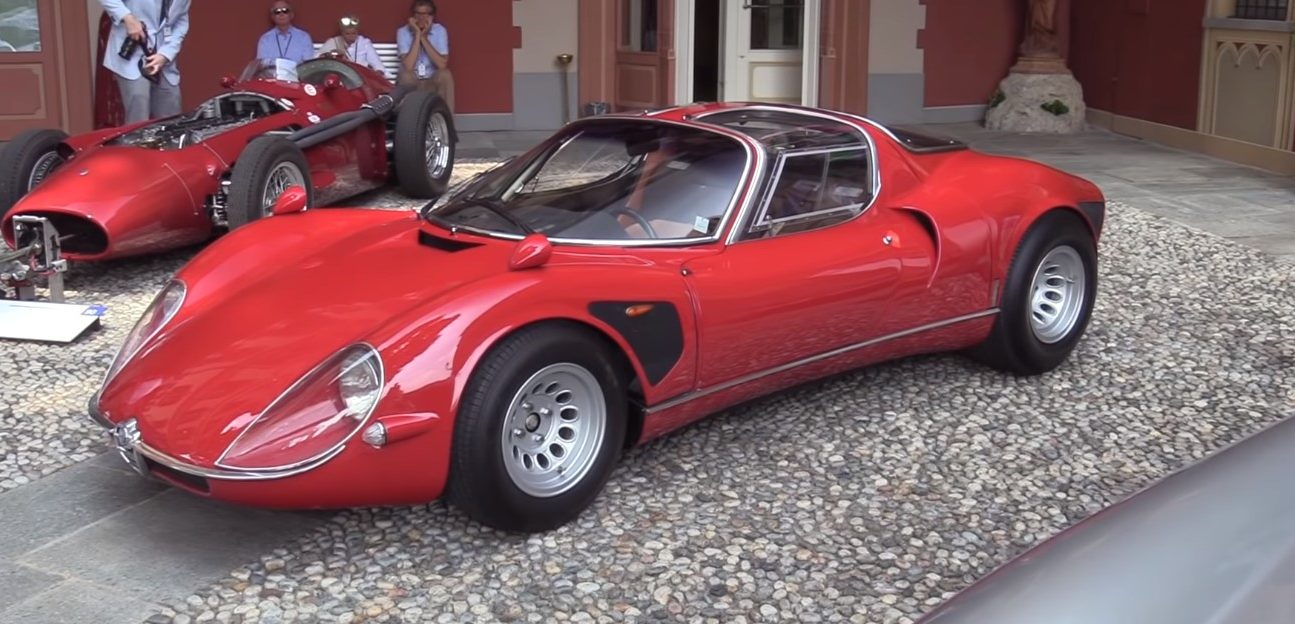 Dwulitrowa V8 w Alfa Romeo 33 Stradale ma pazur