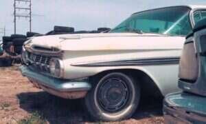 W tej kolekcji Chevrolet Impala z 1959 roku to wierzchołek góry lodowej