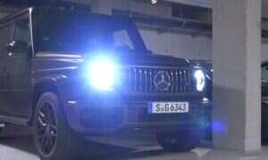 V8 w Mercedes-AMG G63 tylko podkreśla jego surowy wygląd