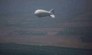 Wielkie balony podglądają kilka stanów dla wojska USA