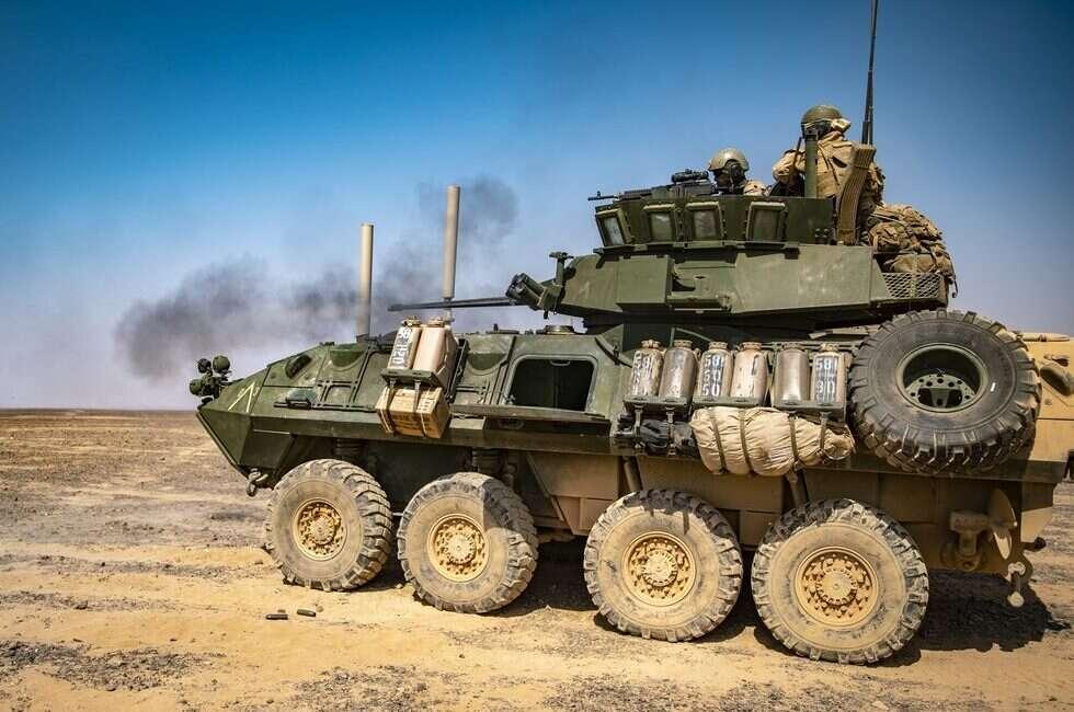 Oddział Marines potrzebuje nowego opancerzonego pojazdu
