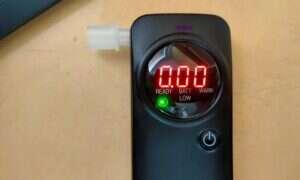 Test alkomatu AlcoForce AF-400E