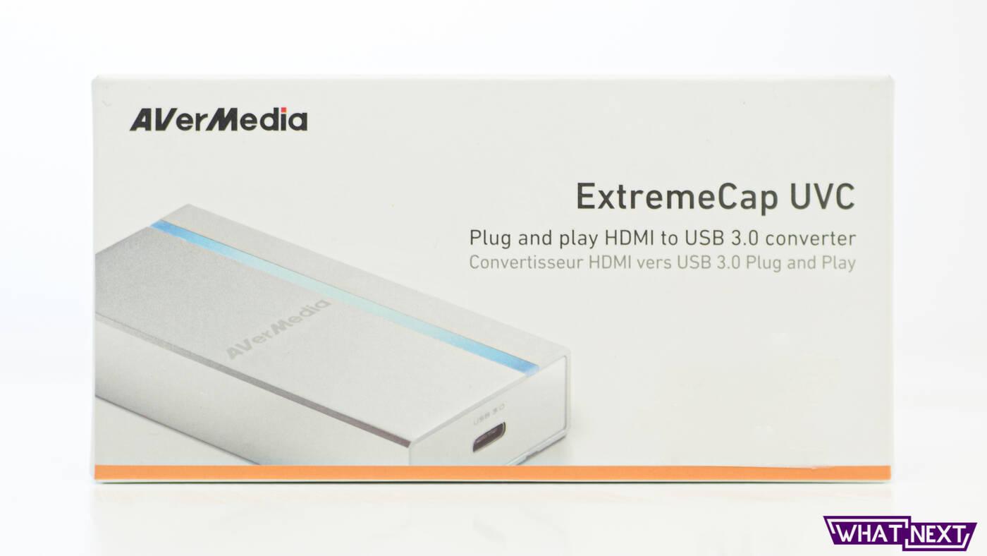 Test AVerMedia ExtremeCap UVC
