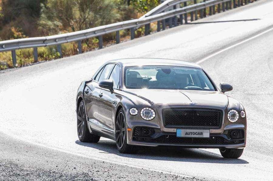 Bentley testuje limuzynę Flying Spur w hybrydowej wersji
