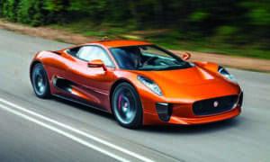 Nowy F-Type Jaguara może bazować na koncepcie C-X75