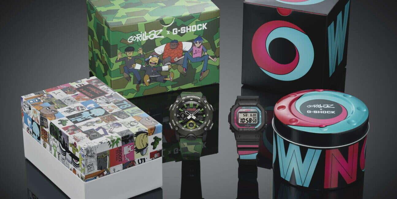 Casio przygotował zegarki G-Schock z zespołem Gorillaz