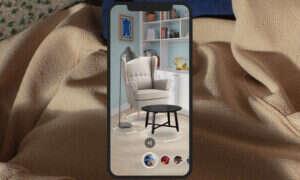 W aplikacji IKEA PLACE wirtualnie umeblujesz swój dom