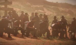Gracze Red Dead Online nieśli zupy przez całą mapę